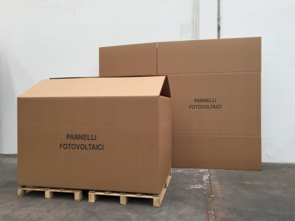 Bien connu Scatole cartone grandi dimensioni | CGF BOX SCATOLIFICIO SA48
